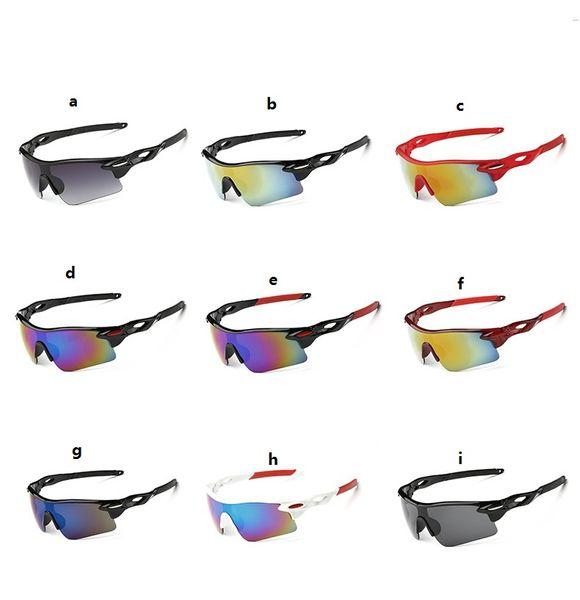 top popular wholesale outdoor eyewears for summer UV400 Cycling Bike Riding Sunglasses Eyewear Outdoor Sports Glasses Bike Goggle 2019