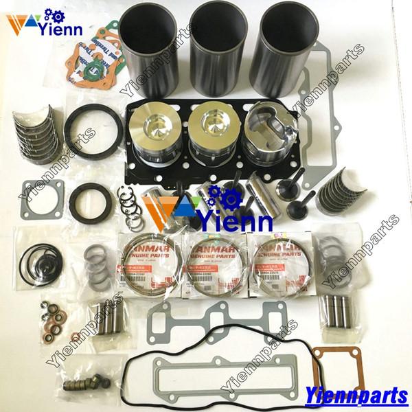 3TNE88 3TNV88 Engine Overhaul Gasket Kit For Yanmar Excavator Loader Forklift