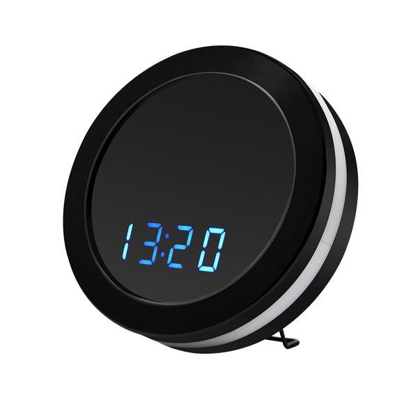 Envío gratis HD Z18 WIFI reloj despertador P2P IP cámara luces coloridas reloj APP para iPhone Android 1920 * 1080
