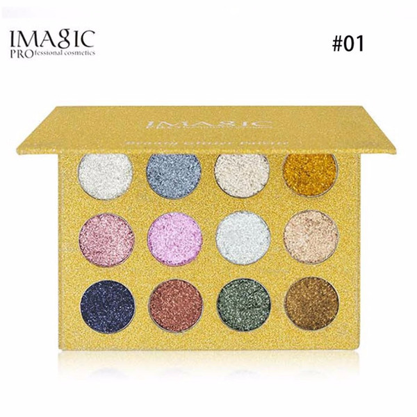 12 Colors/Set Eye Shadow Palette Natural Glitters Shining Powder Eyeshadow Make Up Cosmetic Palette Eye Makeup Tool Kits new