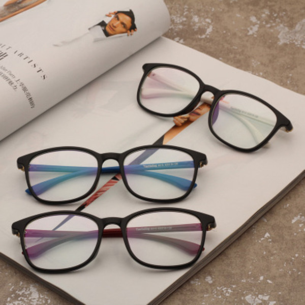 Transparent Computer Glasses Clear Fashion Eyeglasses Fake Optical Eye Glasses Frames For Women Myopia Glass Spectacles Eyewear