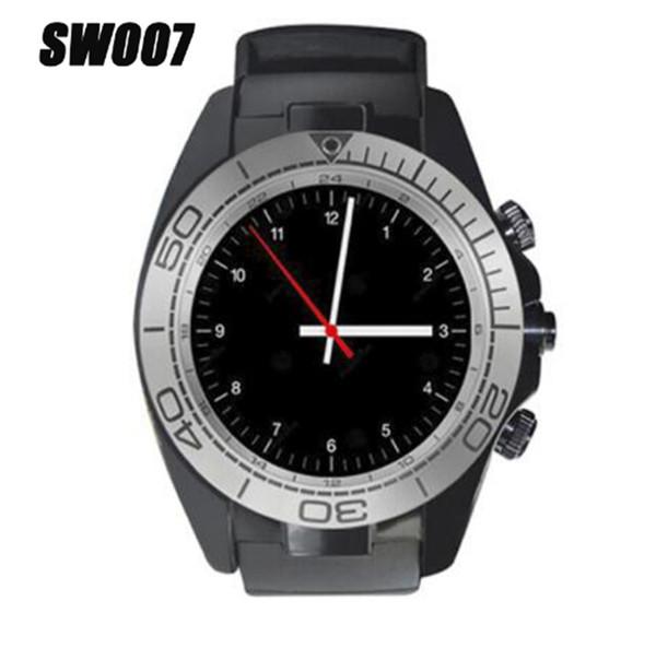 SW007 Bluetooth Smart Watch con dispositivo indossabile per pedometro fotocamera Supporto Sim Card TF Smartwatch per telefono Android