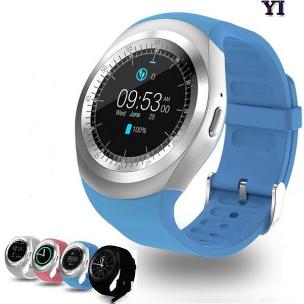 Y1 Smartwatch Luxus Smart Uhren Outwork Sport Bluetooth Touchscreen Armband mit SIM-Kartensteckplatz für IOS Android Samsung iPhone Best