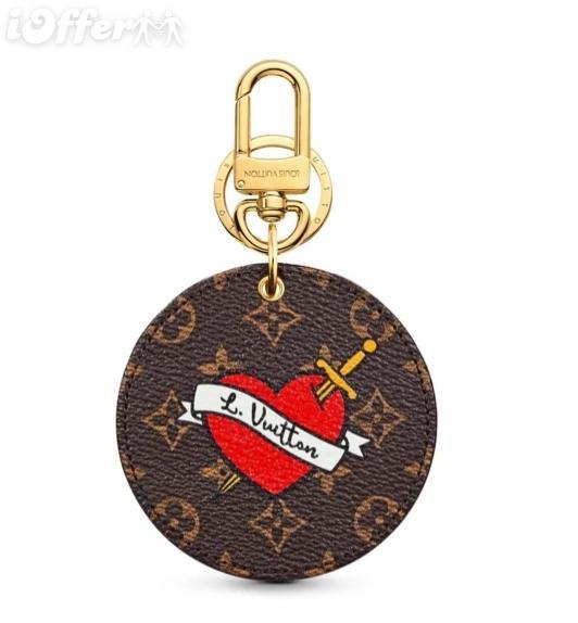 M63761 WOMEN BAG charm KEY CHAIN HOLDER wallet purse Belt Bags Mini Bags Clutches Exotics