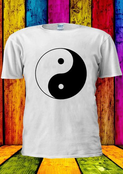 Balance Symbol Ying And Yang Soul T-shirt Vest Tank Top Men Women Unisex 1186 Cartoon t shirt men Unisex New Fashion tshirt