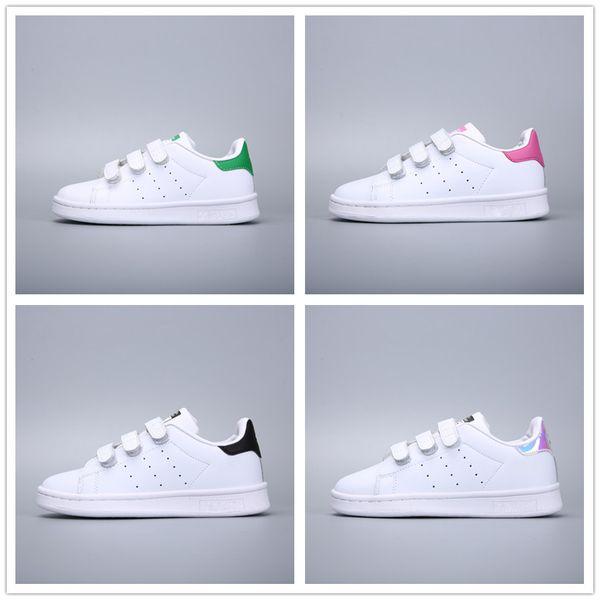 Großhandel Adidas Superstar Kinder Skateboarding Schuhe Baby Kinder Schuhe Sneakers Originals Super Star Mädchen Jungen Sport Casual Schuhe 24 35 Von