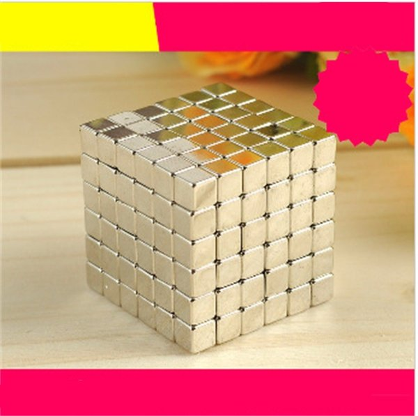 3mm 216pcs Buck Ball Creative Gifts Square Magic Cube Strong Magnetic Balls Intelligence Building Block Party Favor For Child 18fp Ww