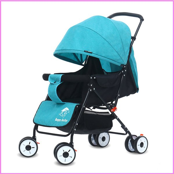 Mini Baby Stroller, Travel System Small Pushchair Infant Carriage Flod Baby-Jogger-City-SelecStroller-with Slate Baby