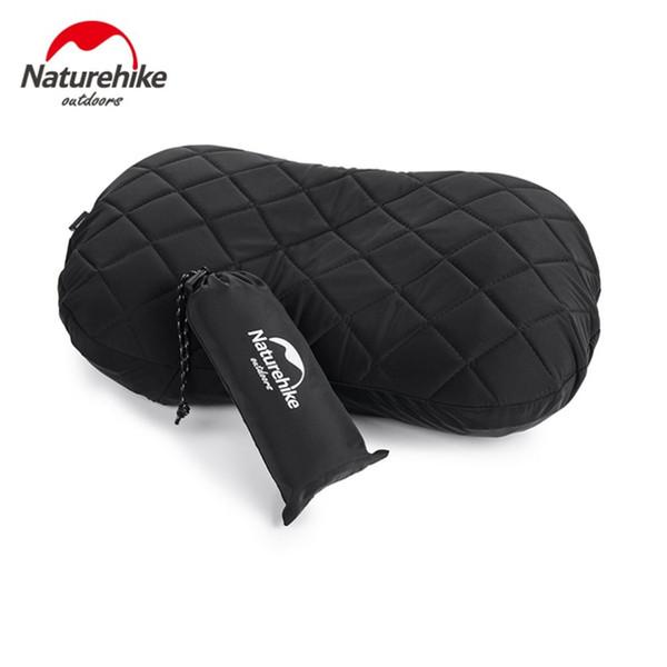 2018 camping gonflable oreiller épaissir oreiller confortable confortable avec couvercle anti-poussière housse anti-poussière