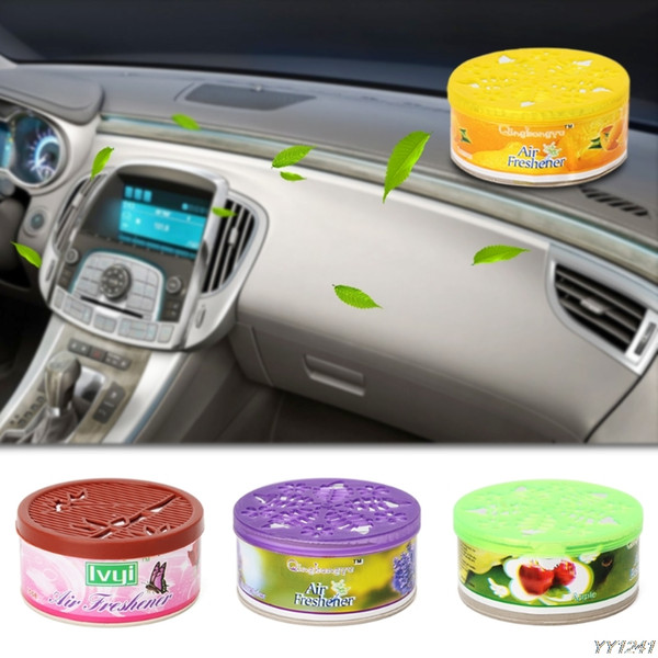 Solid Indoor Car Home Solid Deodorizing Scent Air Freshener Fragrance For Homes 4 various flavors Car Auto Decor DropShip