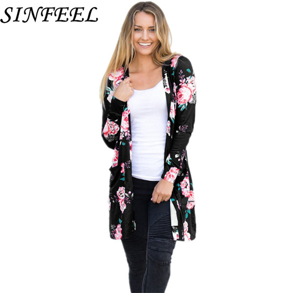SINFEEL 3XL Oversized Cape Poncho Women Sweaters Autumn Cardigan Feminino Long Sleeve Tops Coat Long Cardigan Women Plus Size