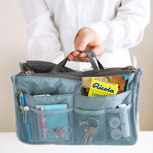 Double sac de voyage à glissière organisateur de cubes d'emballage Capacité élevée Main Nécessités journalières pour la finition du forfait Tourisme