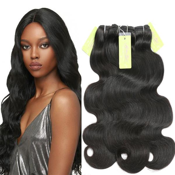 Body Wave Hair Weave ShowJarlly Cuticle Aligned Virgin Hair Bundles Indian Human Hair Sew in Weaves Premium Virgin Extensions
