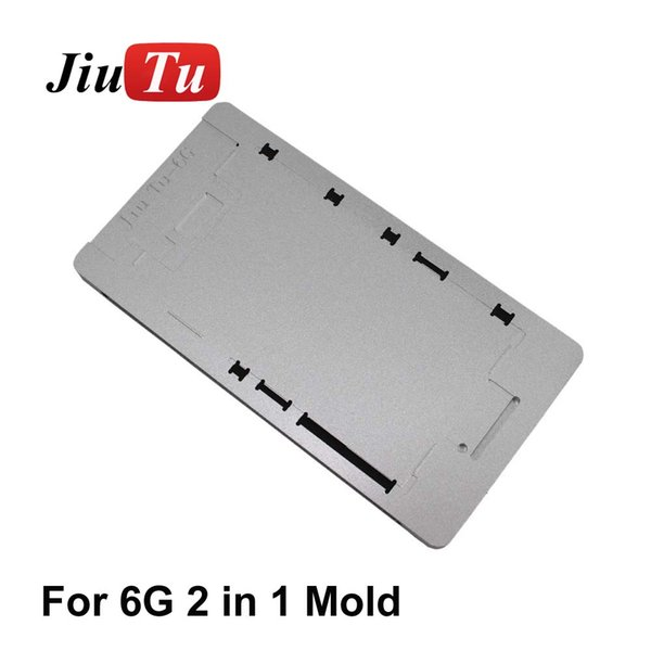 Jiutu 2 in 1 Mold OCA Polarizer Film Laminating Mold With Screen Alignment For iPhone 8G 8 Plus 7G 7 Plus 6S 6G