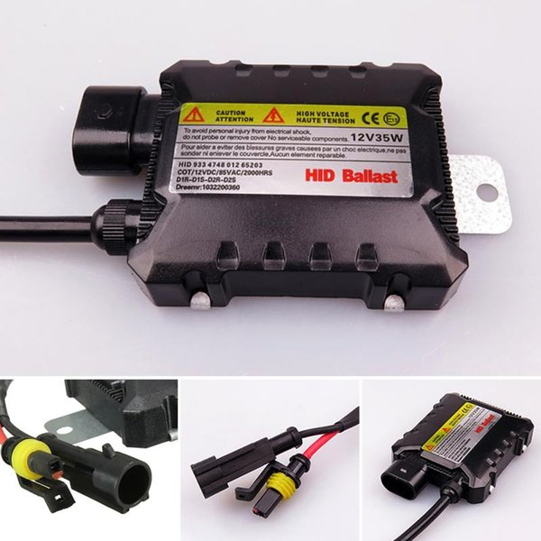 2018 Digital Car Xenon for HID Ballast Light Lamp Conversion Kit Replacement Slim for Ultra All Light Bulbs Fit DC 12V 35W