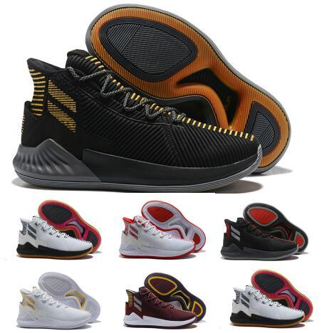 Sale D Rose 9 Air Basketball Shoes Hombre Hombre Gold Derrick Rose 9s Designer Runners 2018 Marca Classis Sport Boots Training Sneaker Shoe
