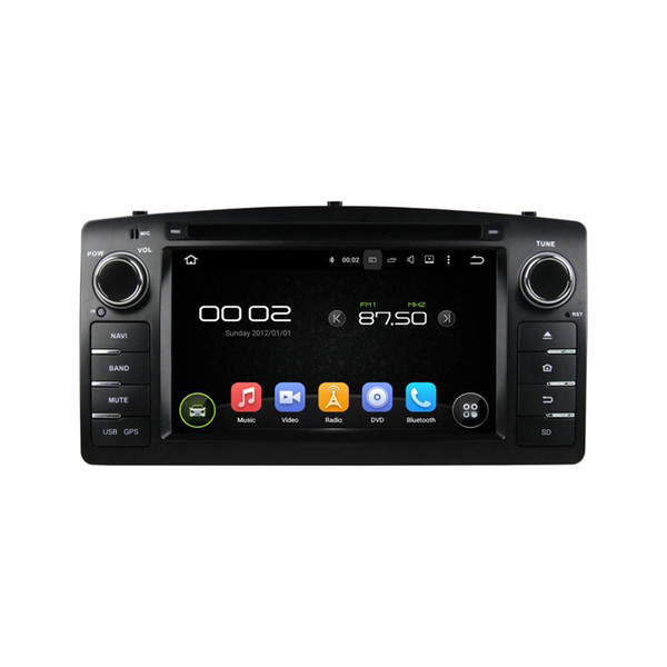 Car DVD player for Toyota Corolla 2004 6.2inch Octa core Andriod 8.0 with GPS,Steering Wheel Control,Bluetooth,Radio