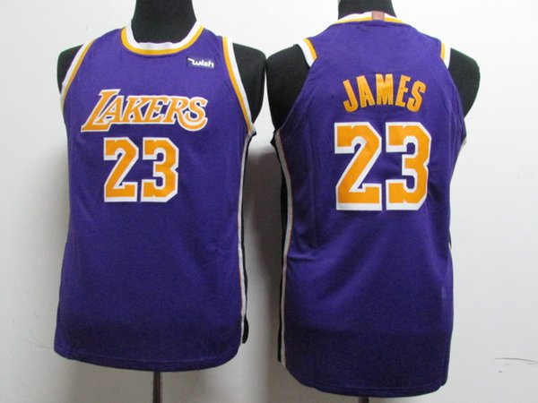 competitive price 01c94 f9d06 2018 23 Lebron James Lakers Jersey 2018 2019 Lakers James Basketball New  Jerseys Mens Youth Black The City The Retro From Luishen01, &Price; | ...