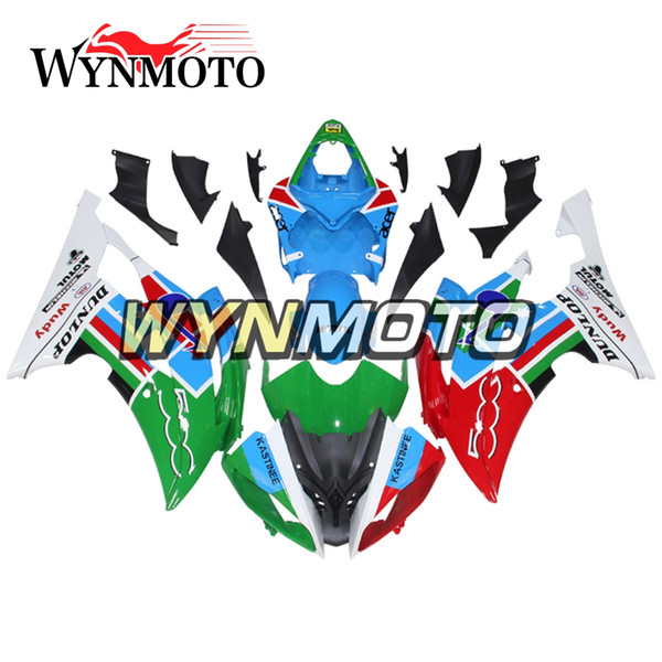 Bodywork Motorcycle ABS Fairings For Yamaha YZF600 R6 2008 - 2016 2010 2011 2012 2013 2014 2015 Body Kits Blue Red Green Cowlings