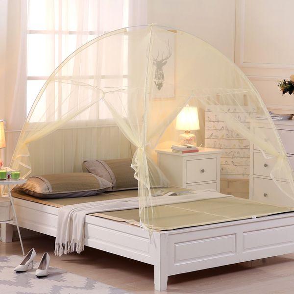Free, um einen Boden Netze Reißverschluss zweitürigen Erwachsenen Ger der Boden Regenschirm Anti-Moskito-Abdeckung 1 m1 zu installieren. 6 Meter 1,8 Bett
