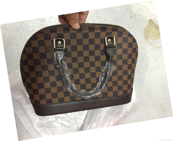 2018wholesale ALMA BB shell bag women fashion PU Leather handbags flower Embossed shoulder bags famous brand designer handbags high quality