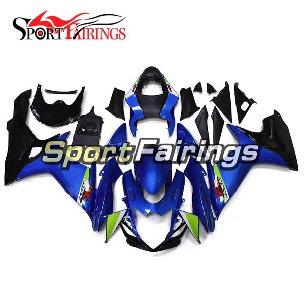 Novo Completo Kit de Carenagem De Motocicleta Para Suzuki GSXR600-750 K11 Ano 2011 2012 2013 2014 2015 2016 ABS Carroçaria Brilhante Corpo azul kits