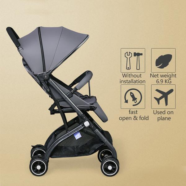 Superleichter und heißer verkaufender Kinderwagen mit 8 Rädern Baby Pram