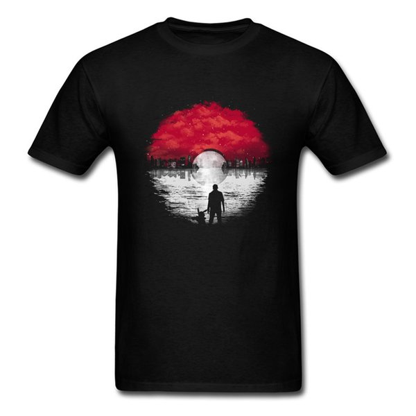 Pop World Music Records T Shirt Men Red White Glorious Loudly Tshirt Family Tees Father's Day Gift 100% Cotton A Wonderful Dream