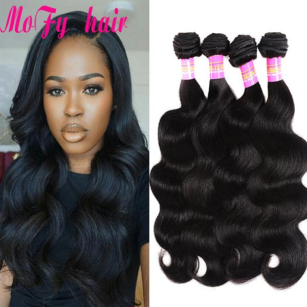 8A Mink Brazilian Body Wave Hair Weave Bundles 8-30 Inch Remy Hair Extension Natural Color Can be Dyed 100% Human Hair Bundles