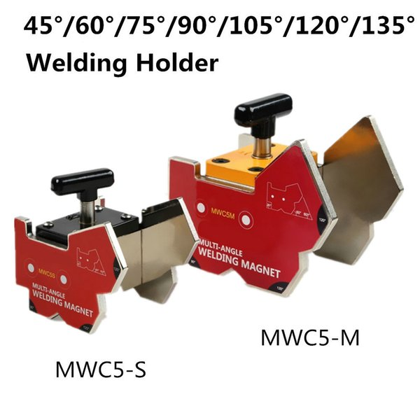 Multi-angle Magnet Welding Clamp 60-120kg Holding Neodymium Magnetic Force Magnet Welding Holder with Switch Heavy Duty MWC5