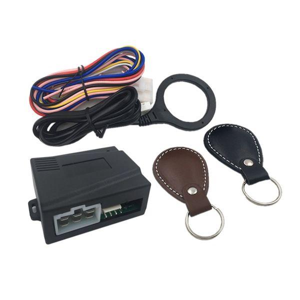 Keyless Entry System Smart Car Engine Push Start Stop Button RFID Lock Ignition Auto Start Stop Immobilizer Starline