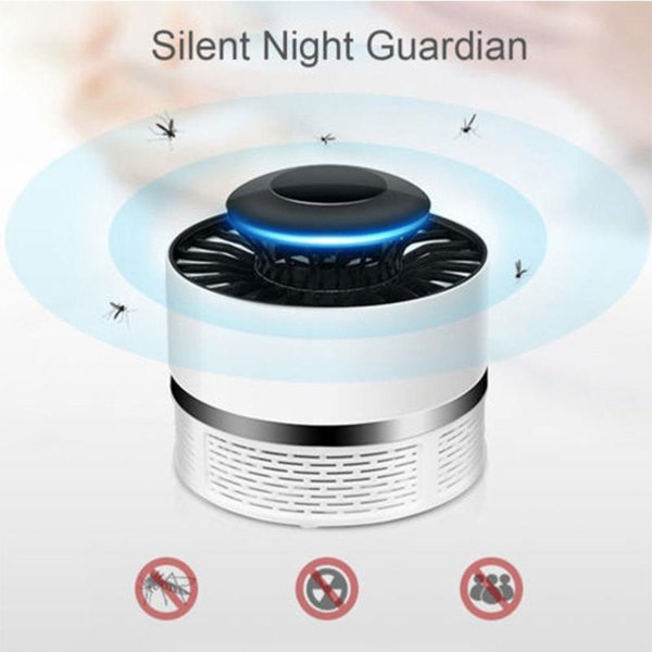 Mosquito Killer Lamp USB Power Mosquito Trap for Moths Flying Pest Control Energy Saving Mini Size Powerful Fan