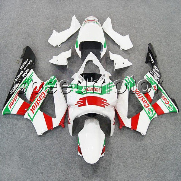 colors+Gifts Injection mold red green white motorcycle cowl Fairing for HONDA CBR900RR 2000 2001 CBR929RR 00 01 ABS plastic kit