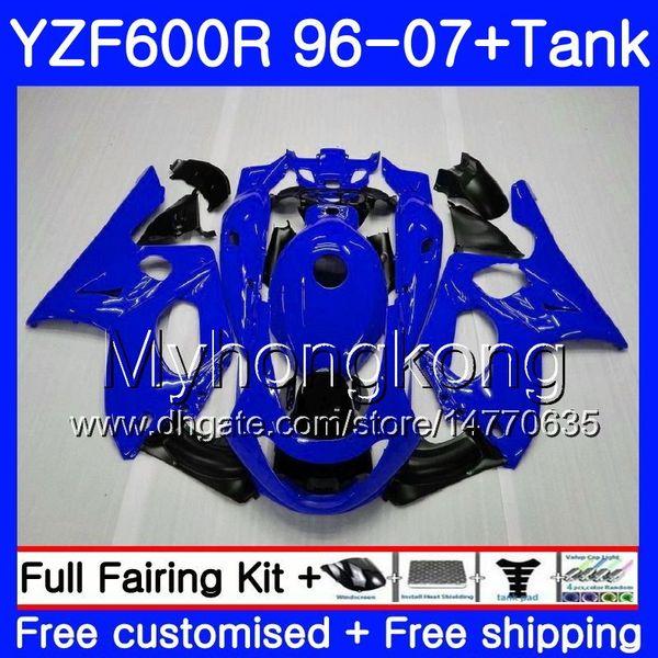 Body + Gloss Purple Hot Tank Para YAMAHA Thundercat YZF600R 96 97 98 99 00 01 229HM.4 YZF-600R YZF 600R 1996 1997 1998 1999 2000 2001 2001 Carenado