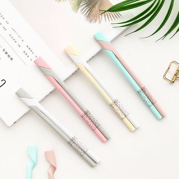 2 Pcs / set 0.5mm Black Neutral Ink Gel Pen Refill Girlfriends lovers Girls Best Creative Gift Office Supplies School Stationery