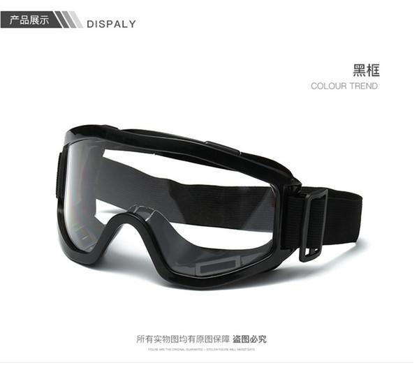 black visor Motocross goggles Cycling Outdoor Goggles Off Road Motocross Moto glasses