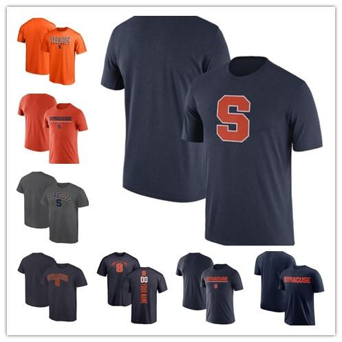 8578c298 Mens Syracuse Orange Fanatics Branded Football Personalized Backer Campus  T-Shirt navy grey orange size