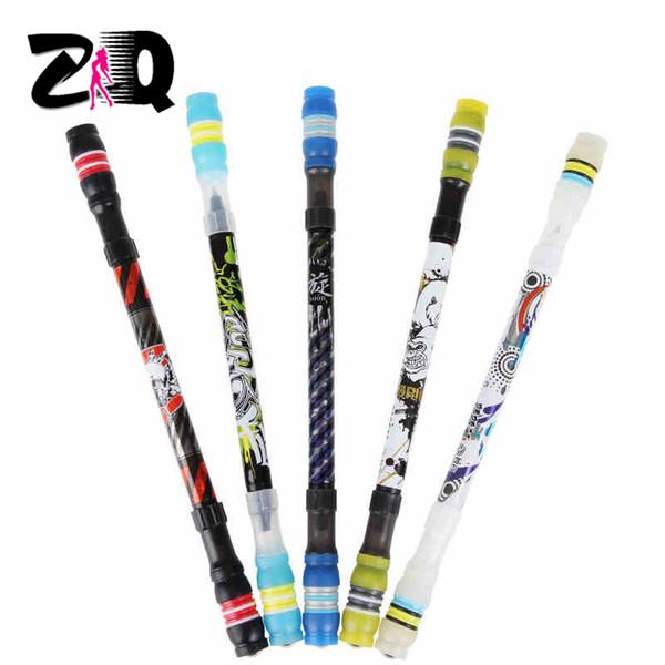새로운 창조적 인 미끄러짐 입히는 non-slip 초심자 회전시키는 펜 전사 회전시키는 둥근 펜 공 점 Maing 펜 손가락 267