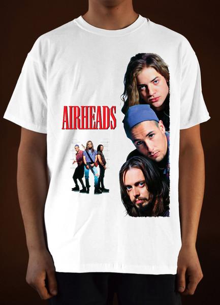 AIRHEADS Movie poster ver. 1 t-shirt de Adam Sandler (branco) S-5XL