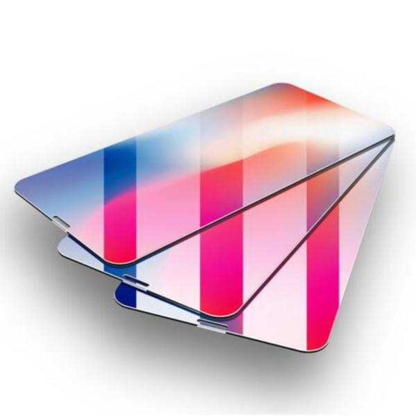 Suntaiho 5D Displayschutzfolie für iPhone X Edge Premium-Explosionsschutz-Hartglas für iPhone X Glasfolie