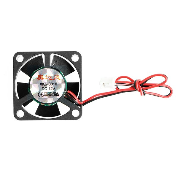 DC 12V 0.13A 2-Pin 30x30x10mm PC Computer CPU System Brushless Cooling Fan 3010 New Design