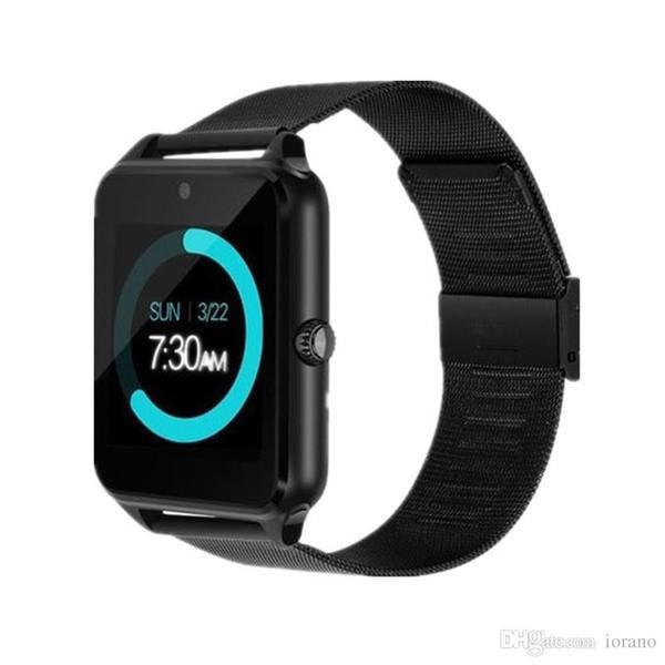 Z60 Smart Watch Bluetooth Android Phone Call 2G GSM SIM TF Card Camera Smartwatch For Xiaomi Huawei Clock relogio inteligente
