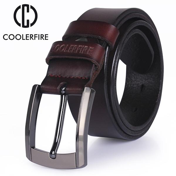 Hommes de haute qualité ceinture en cuir de luxe designer ceintures hommes cowskin mode Strap hommes Jeans pour homme cow-boy