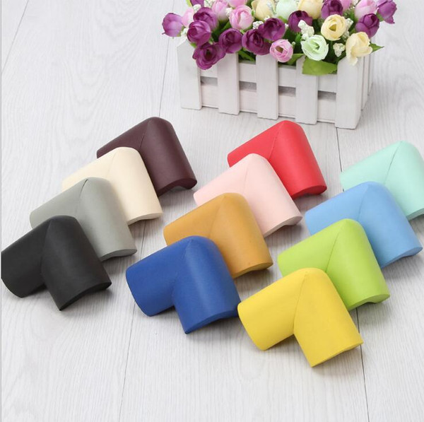 10PCS/LOT Silicone Table Desk Corner Edge Angle Cover Guards Safe Protector Baby Children Infant Safety Protection Corner Edge Cushions