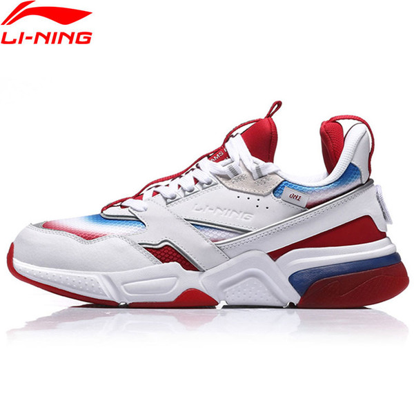 PFW Men 001 R-I The Trend Walking Shoes Wearble LiNing Sport Shoes Comfort Sneakers AGLN227 YXB199