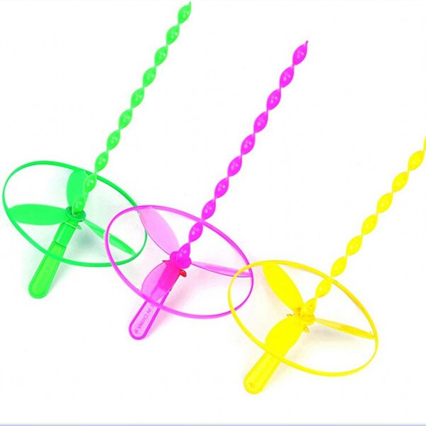 Free shipping Creativity Puzzle Hand pushing UFO Flying Fairy Small gifts wholesale Start school Children toy Mall gift