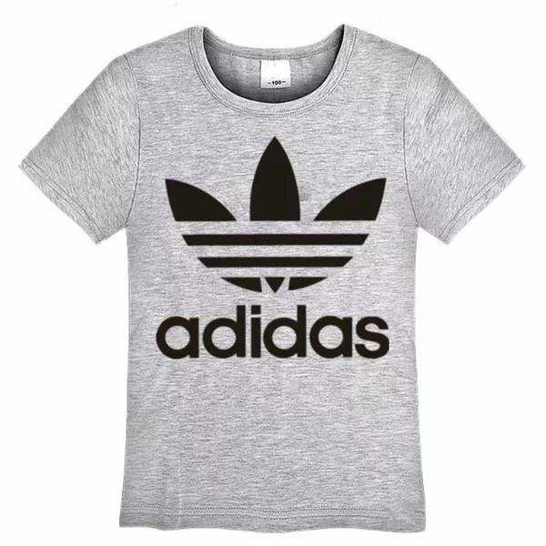 Nouveau Mode Enfants T-shirt manches courtes Tops Garçons Vêtements Marques Tees T-shirts Enfants Filles Classic T-shirts Vêtements
