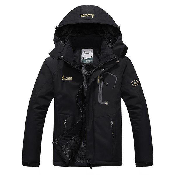 2018 Inverno uomo Fleece Interno Giacca impermeabile Sport all'aria aperta caldo marchio cappotto escursionismo campeggio trekking sci giacche maschili VA063