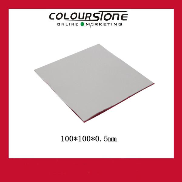 High Quality 1pc CPU GPU Silicone Thermal Pad Heatsink Cooling Conductive Heat Sink 100*100*0.5mm