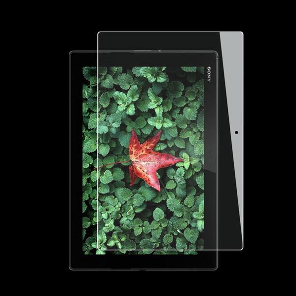 Film de protection d'écran en verre trempé de qualité supérieure pour dureté 9H pour tablette Sony Xperia Z3 Compact Z2 Z4 Tablet avec emballage de détail